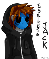 Eyeless Jack by kaleePANDA