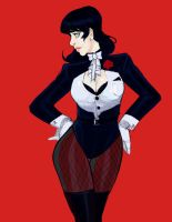Zatanna Redesign by AaronNSN