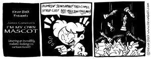 James Cameron's Mascot Comic by kevinbolk