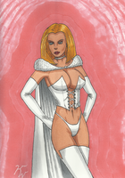 Emma Frost White Queen by Palyansquest