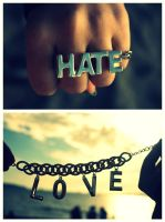 Love and Hate by mouzeron