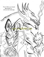 Cool Shendu + 8-in-1 Son by alaer