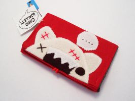 Zombie Kitty Card Wallet by quacked