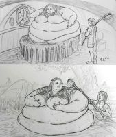 Living in a Hobbit Paradise: pt. 9 and 10 by Ray-Norr