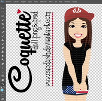 CoquetteDoll - .pngy.psd by Candush