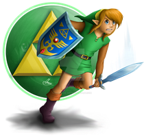 A link to the past - Link by TheDarkXelloss