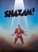 Captain Marvel (Shazam) by simonbearedwards