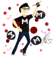 Markiplier Fanart by SpiritInSpace