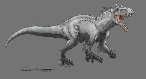 Indominus Rex and a new style by c-compiler