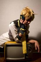 Vocaloid Len Kagamine blue moon _17 by gatitocosplay