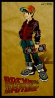 Back to the Future-Marty McFly by SaG82