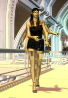 Mikita on the town by trekkiegal by LoneStranger