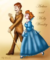 Lord and Lady Weasley by Lumosita