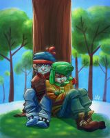 South Park - Nap by Joxem