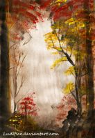 Peaceful Autumn Scenery by Ludifico