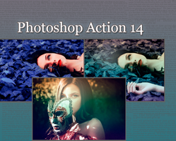 Photoshop Action 14 by MagicalMoment
