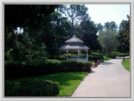 Riverside Walkway Gazebo by WDWParksGal