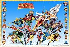 all star squadron by jscheller