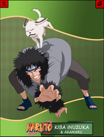 Kiba Inuzuka and Akamaru -PTS- by pein444