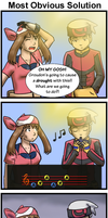 Commish: Obvious Solution by funakounasoul