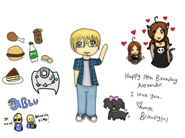 ::Happy 19th Birthday Alex:: by Batty-Brandyn