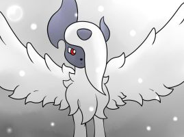 Pokemon - Mega Absol by ZoruDawn