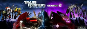 Transformers Prime Season 2 Poster by MidNightxD