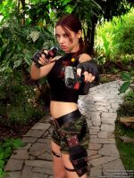 Lara Croft cosplay - AOD render-2 by TanyaCroft