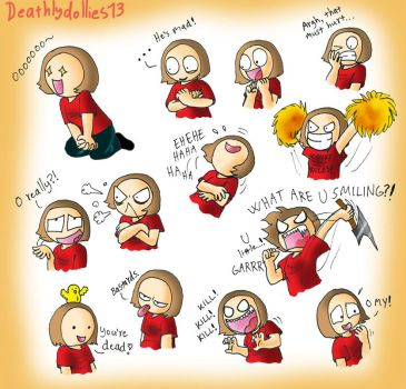 My reactions 2 by Deathlydollies13