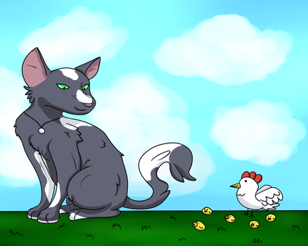 Fun with Chickens by Kaitorubel