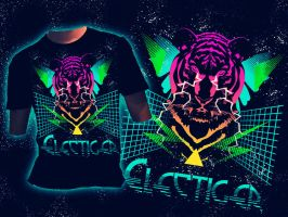 Electiger T-shirt by folkensioner