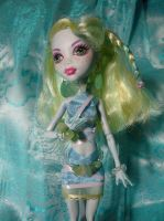 Lagoona Blue Custom Outfit Closeup by OtakuEC
