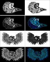 Logo- CrowsReign by deadspirit6