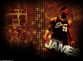 LeBron James by ryancurrie