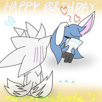 happy bday mariansonicfanatic :D by Icy-Cream-24