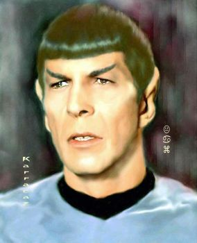 Spock Deadly Years by karracaz
