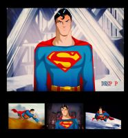 Superman Christopher Reeves Animated by Des Taylor by DESPOP