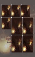 Mario Brothers Process by BloodnSpice