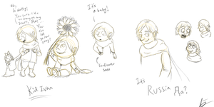 APH Russia Doodles by Flutter-Butter