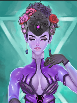 unfinished widowmaker (2) by Totoroblack1