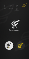 Footballero.com - logotype by gbindis