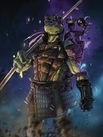 Donatello does machines by kevinbriones