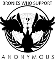 Anonymous Brony by Phoxxy232