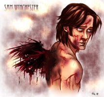 Sam Winchester by Lims-Kraghma