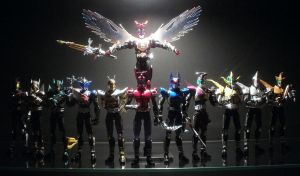 My Kabuto rider SHF collection by gigasteam