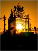 Cemetery Gate by SkizzleFrenick