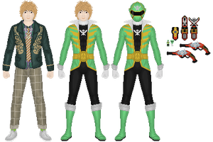 "Don Dogoier ""Doc"", Gokai Green by Taiko554"