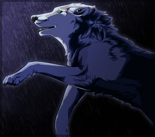 Happily Lost in the Rain by SydeBiased