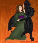 Darth Vader and Padme'. by amiry