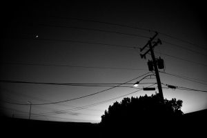 pole and wire by TwistedLabel